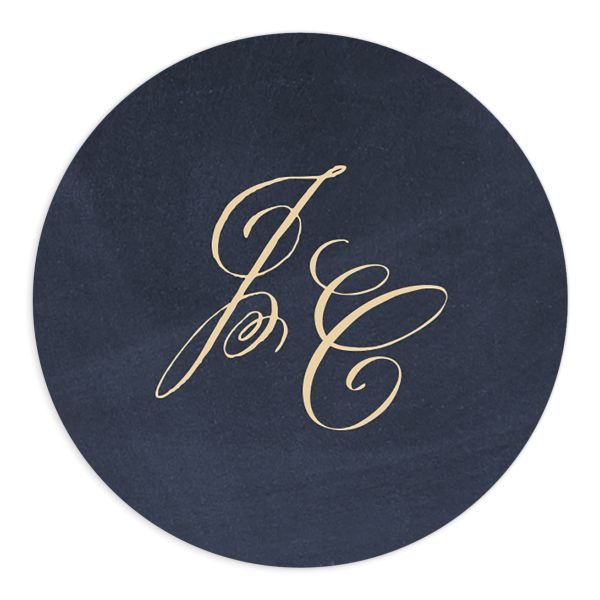 vintage luxe wedding stickers
