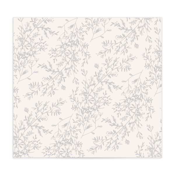 Botanical Branches DIY envelope liner in black