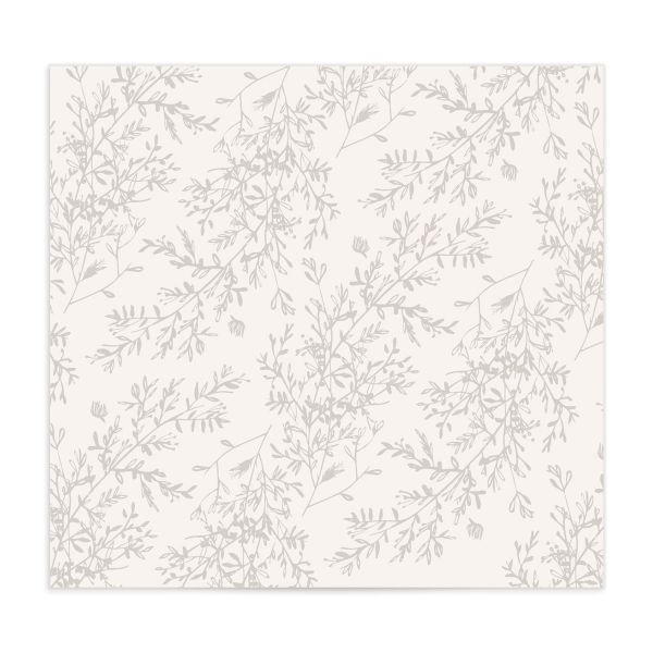 Botanical Branches DIY envelope liner in green