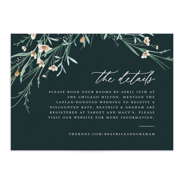 Dark Wreath enclosure card front