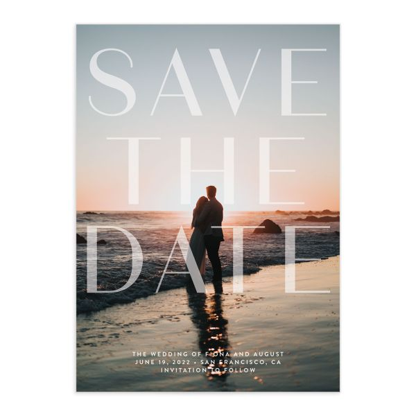 Awash save the date front green