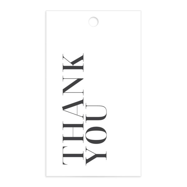 Minimal Chic Favor Gift Tags