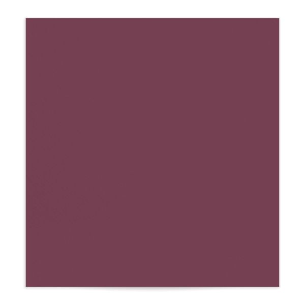 Watercolor Blooms envelope liner burgundy