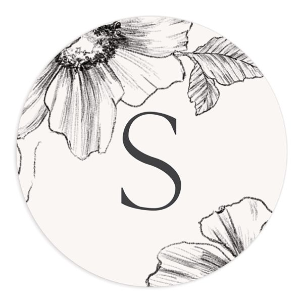 Botanical Floral stickers