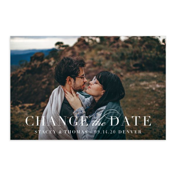Classic Date Change the Date Postcards