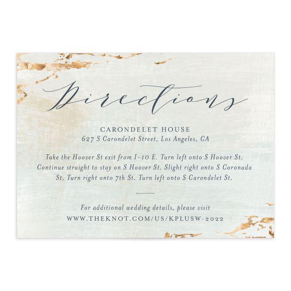 Earthy Organic Wedding Enclosure Cards