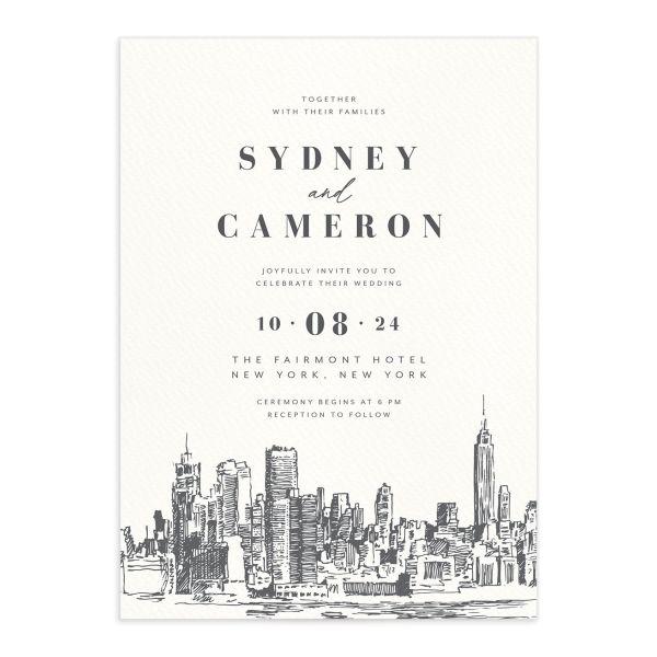 Love in New York Wedding Invitations
