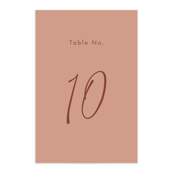 Simple Script Table Numbers front