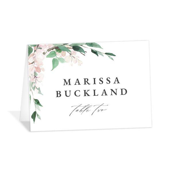 Romantic Wisteria Place Cards