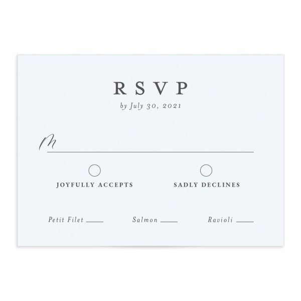 Painted Beach RSVP card front