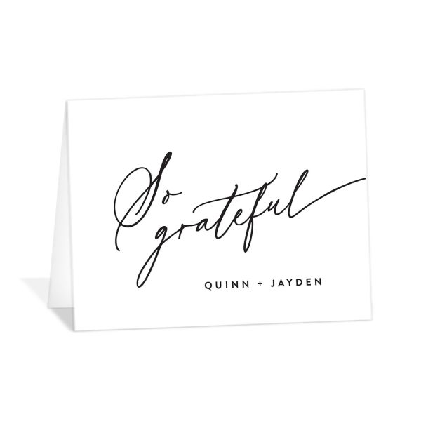 Simply Us Thank You Cards