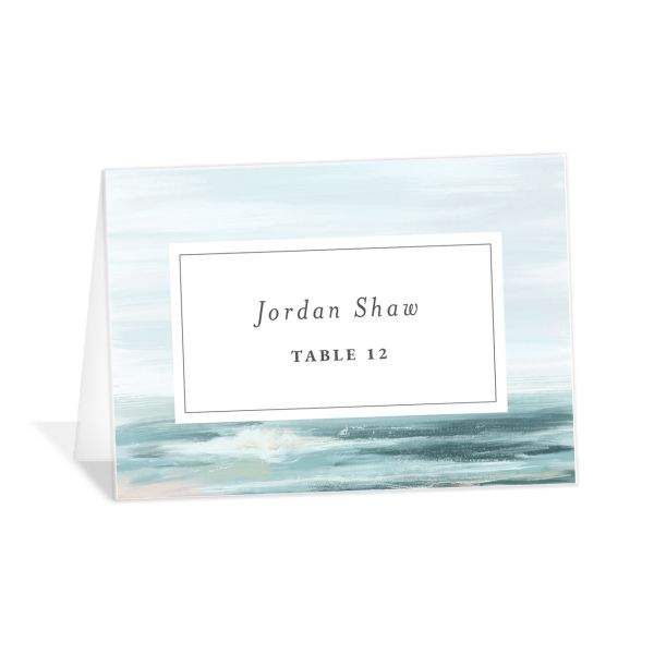 Painted Beach Place Cards