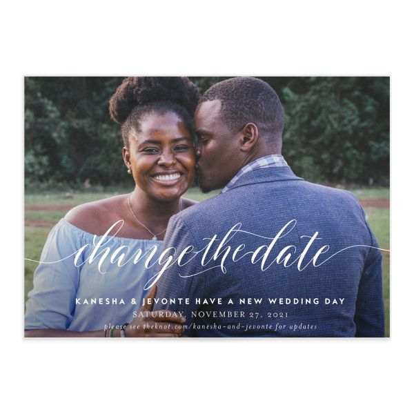 Scripted We Do Change the Date Card front