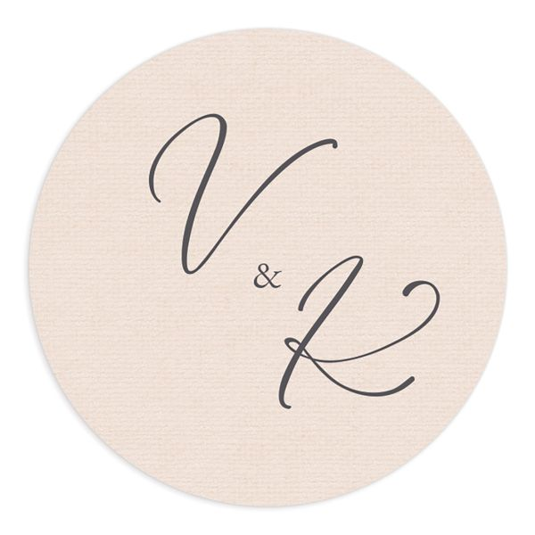 Beloved Floral Wedding Sticker in white