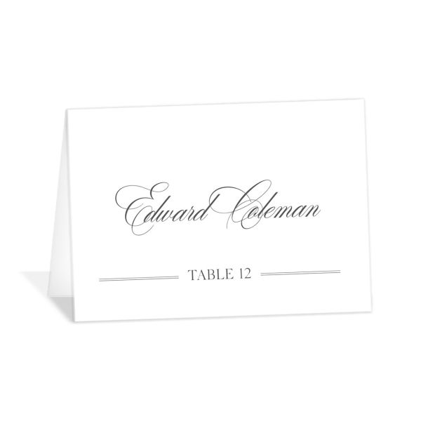 Classically Elegant Place Cards