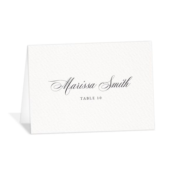 Exquisite Calligraphy Place Cards