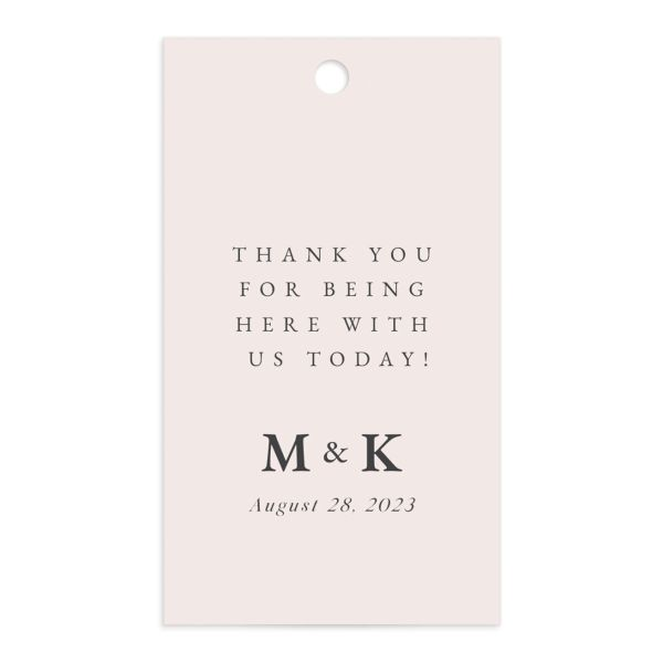 Romantic Wisteria Favor Gift Tags