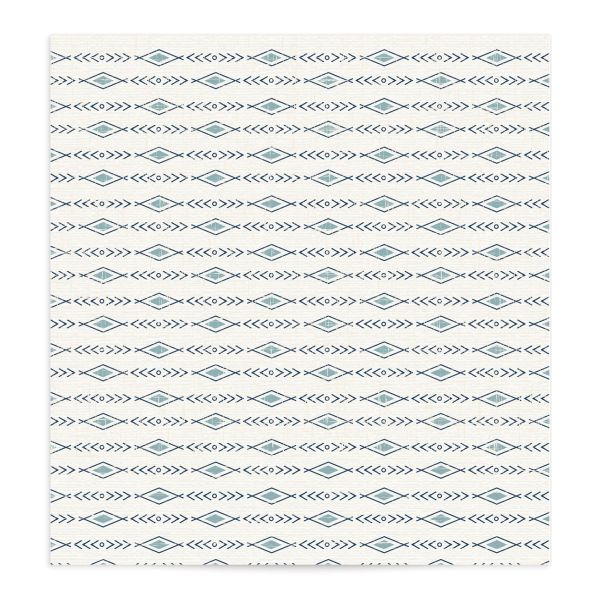 Vintage Mountain envelope liner front in blue