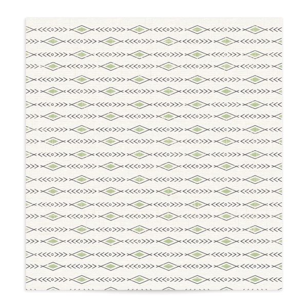 Vintage Mountain envelope liner front in green