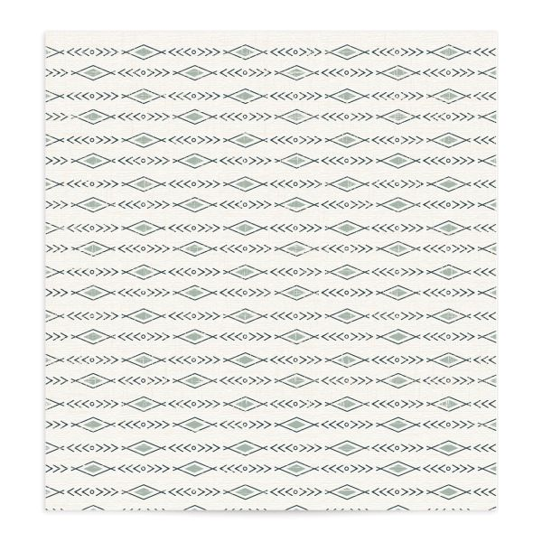 Vintage Mountain envelope liner front in teal