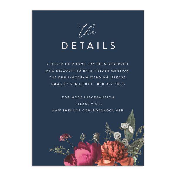 Blooming Botanical Enclosure Card