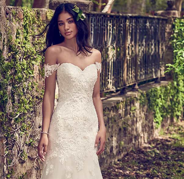 Australian wedding dress designer maggie